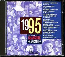 LES PLUS BELLES CHANSONS FRANCAISES - 1995 - CD COMPILATION ATLAS
