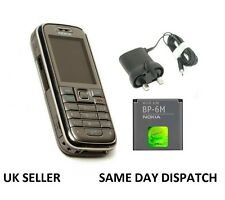 New Condition Nokia 6233 Silver Unlocked Camera Bluetooth Classic Mobile Phone