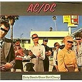 AC/DC - Dirty Deeds Done Dirt Cheap (2003) CD - AS NEW