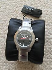 GENUINE PORSCHE DESIGN P6000 STAINLESS STEEL WATCH NEW AND BOXED