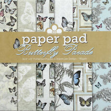 """Butterfly Parade paper pad from Craftwork Cards - 36 8"""" by 8"""" patterned papers"""