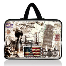"Paris Laptop Sleeve Bag Case + Handle For 15"" - 15.6"" Acer Asus Dell Lenovo HP"