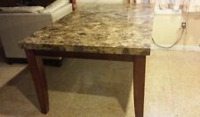 Montibello from Bob's furniture Marble dining table 42 x 70 x 30 without chairs