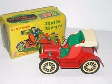 VINTAGE SSS JAPAN ROLLS ROYCE OLD TIMER TIN FRICTION TOY CAR IN THE ORIGINAL BOX