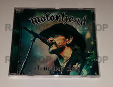 Clean Your Clock by Motörhead (CD, 2016, Warner) Motorhead ARGENTINA PROMO