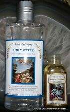 Holy water and anointing oil from the Holy Land , blessed Jordan river EXCLUSIVE
