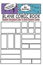 Blank Comic Book Random Storyboard Sizes Build Dynamic Scenes Make Your Own Comi