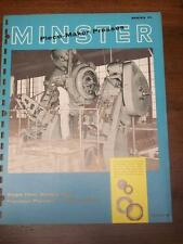 Vtg Minster Machine Co Brochure~Series P1 Piece-Maker Presses~70 100 150~Ohio
