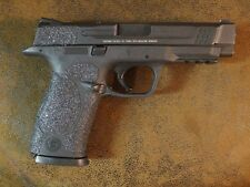 Black Textured Rubber Grip Enhancements for the Smith & Wesson M&P .45 Caliber