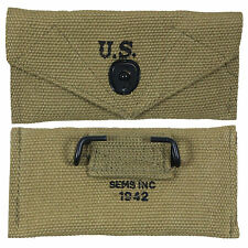 US ARMY/AIRBORNE KHAKI FIRST AID POUCH - WW2 REPRO