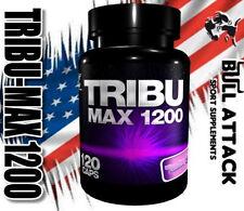 120 x TRIBU MAX Tablets- Tribulus Terrestris 90% SAPONINS - TESTOSTERONE BOOSTER