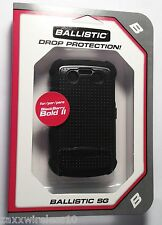 Ballistic SG Tough Jacket Case Cover for BlackBerry Bold 2 9700 9780 Black