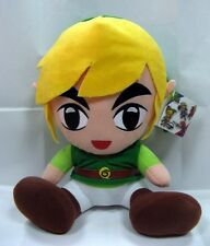 BIG 30CM Link Plush Legend of Zelda Stuffed Seated Doll 12'' Toy Game ZEDL8212