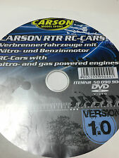 Carson DVD RC Cars First Steps Tamiya Dickie Car Verbrenner Nitro Fahrzeuge