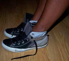CONVERSE HIGH TOP Slate Grey Trainers Size: 6 - Plimsolls Gym Use Only