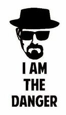 Breaking Bad Heisenberg 'I Am The Danger' Vinyl Decal Sticker
