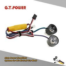 G.T.POWER High Power Headlight System for RC Aircraft Car Boat R33D