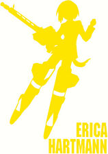 Strike Witches Erica Hartmann character decal