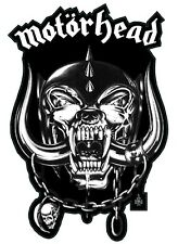 Motorhead War Pig contoured vinyl sticker 150mm X 75mm Lemmy