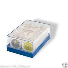 Coffret pour pièce sous étui HB ou cadre, bleu - LEUCHTTURM - Livré neuf