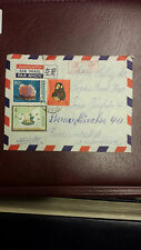 CHINA 1980 T46 Zodiac Monkey on cover from Peking to Germany