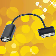 For Samsung Tablet OTG Converter Adapter Cable USB Female For GALAXY N8000 P7500