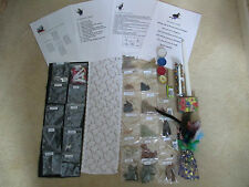 WICCA HUGE SPELL CASTING STARTER KIT BEGINNER HERBS CRYSTALS CHARMS MANY ITEMS S