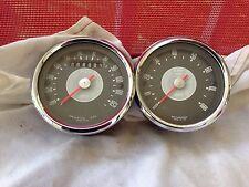 NORTON N15 / P11 / MATCHLESS G15 Smiths 120MPH Speedometer & 8000 RPM Tachometer