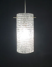 60s Glas Hängeleuchte Rupert Nikoll lamp glass pendant Lampe cristal annees 60