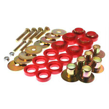 Energy Suspension 3.4142R 67-81 Camaro 67-75 Firebird Body Mount Bushings Red