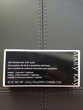 Mary Kay Mini Mineral Eye Color Quad and Free MK Samples