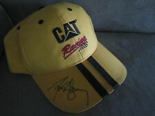 Cat CATERPILLAR Racing DAVE BLANEY Signed Embroidered PATTEN Cap HAT AUTOGRAPHED