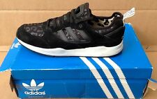 ADIDAS TECH SUPER 2.0 LEATHER BLACK. G95534. Uk 11. Used. RRP £90.