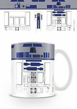 Official Star Wars R2D2 Android Luke Skywalker Mug Droid Novelty Film TV Gift