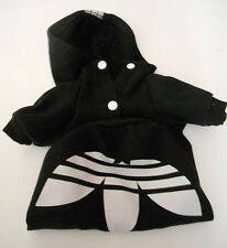 Dog Puppy clothes Black  XL