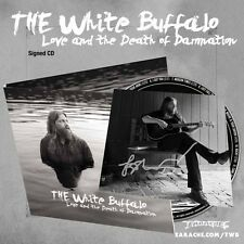 "The White Buffalo ""Love & The Death Of Damnation"" Digipak CD w/ SIGNED PHOTOCARD"