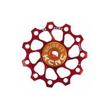 KCNC Jockey Wheel Pulley Ultra Light 12T Shimano Campagnolo SRAM BIKE - RED