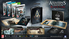 Assassin's Creed IV 4 Black Flag Skull Limited Edition Wii U PAL AUS *NEW*