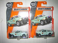 MATCHBOX TWO '15 RAM 1500 POLICE TRUCKS MOMC LOW US SHIPPING A