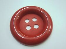 2x VERY LARGE CLOWN PLASTIC BUTTONS 4 HOLE 67mm- HUGE IN 7 COLOURS
