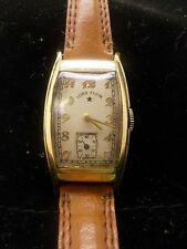 VINTAGE,LORD ELGIN,21 JEWEL,CURVED CASE, JEWEL,GENTS WATCH,X4518