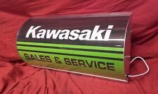 kawasaki,lightup,sign,illuminated,classic,display,mancave,garage,shed,motorcycle