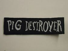 PIG DESTROYER WOVEN PATCH