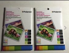 "2 Polaroid Premium Photo Paper - 20 Sheets Each 6"" x 4"" Premium Gloss Paper (AJ)"