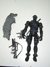 "G.I Joe SNAKE EYES CUSTOM 6"" 1985 V2 MARVEL LEGENDS UNIQUE"