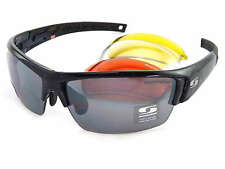SUNWISE Prescription ATLANTA Sports Black sunglasses 4 x Interchangeable Lenses