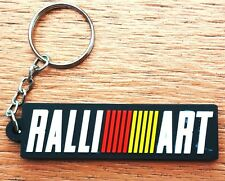 1 KEYCHAIN KEYRING RALLI ART RUBBER MOTORCYCLE BIKE CAR RACING COLLECTIBLE  GIFT