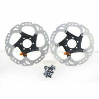 Shimano Deore XT SM-RT86-S Disc Brake Rotor 6 Bolts 160mm Ice Technology 2pcs