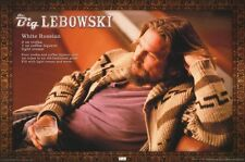 The Big Lebowski White Russian Poster ! BRAND NEW LICENSED ! Jeff Bridges