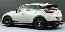 mazda cx3  CX 3 rear aero body kit lip diffuser painted